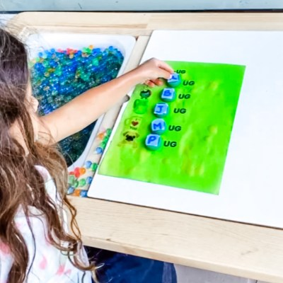 Super fun activity to practice letter sounds!