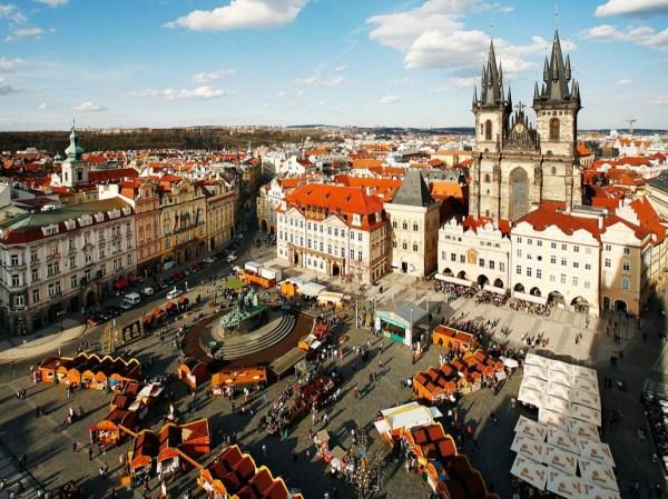 Староместская площадь в Праге: описание и фото