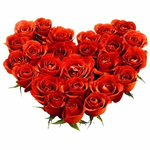 Red Roses Heart Shape bouquet