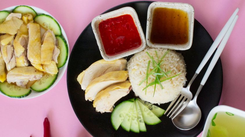 Image result for hainanese chicken rice