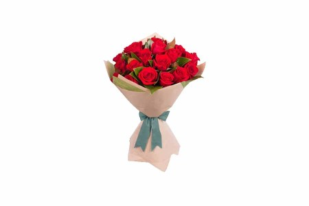 25 Red Roses Special hand Bunch