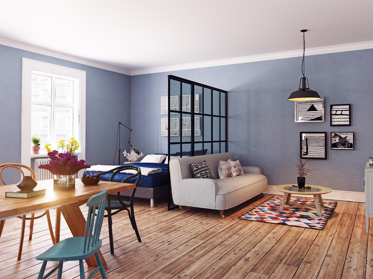 7 Clever Room Partition Ideas For An Open Plan Living Room