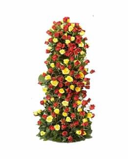 Mix Roses tall Standing Arrangement