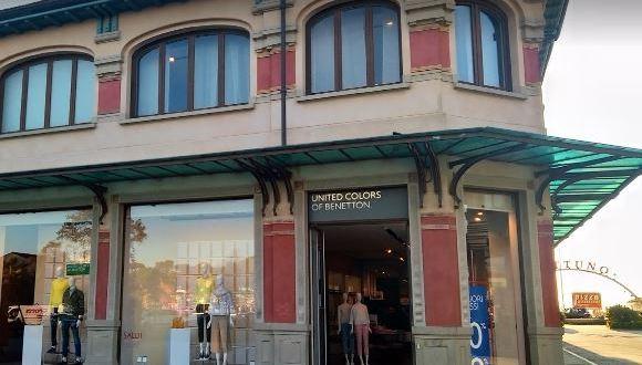 Viareggio. Benetton