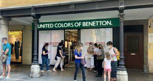 Udine Cambio di gestione del negozio Benetton di via Canciani