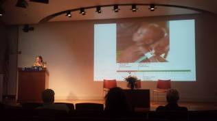 """Alisha Graves from The OASIS Initiative discussed impacts of """"Climate Change & Food Insecurity in the Sahel."""""""