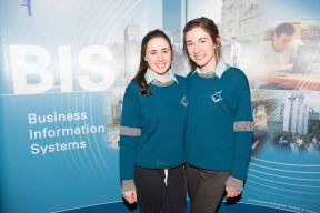 Students from Coláiste Choilm Ballincollig - Phoebe O'Keeffe and Nora Spillane