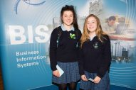 Students from St Marys Mallow - Sarah Aherne and Sinéad O'Riordan