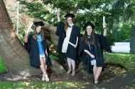 free pic no repro fee 18 oct 2016 Julie Hobbart Tralee, Karen Hayes Rathpeacon and Laura Kent Kilcully who graduated with a degree in Business Information Systems (BIS) from UCC on Tuesday, October 18th. Photography by Gerard McCarthy 087 8537228 more info contact Alison O'Brien Fuzion Communications 021 4271234 086 3879388