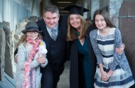 free pic no repro fee 18 oct 2016 Gerard, Helen and Isabel Heaney with Lillian Heaney from Cobh who graduated with a degree in Business Information Systems (BIS) from UCC on Tuesday, October 18th. Photography by Gerard McCarthy 087 8537228 more info contact Alison O'Brien Fuzion Communications 021 4271234 086 3879388