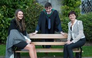 free pic no repro fee 18 oct 2016 Aoibhin, Patricia and Kevin O'Leary Blarney who graduated with a degree in Business Information Systems (BIS) from UCC on Tuesday, October 18th. Photography by Gerard McCarthy 087 8537228 more info contact Alison O'Brien Fuzion Communications 021 4271234 086 3879388