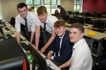 David Murray, Tom Ormond, Aidan McNeill and Harry Mulcahy from PBC Cork.