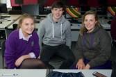 Michaela O'Rourke Regina Mundi College, Rory Byrne Skibbereen Community School and Stephanie Counihan Regina Mundi