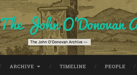 The John O'Donovan Archive