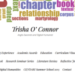 Trisha O'Connor website screenshot