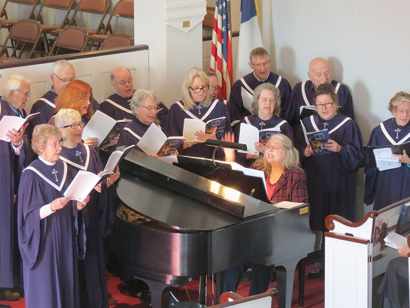 Choir at Pilgrim Church