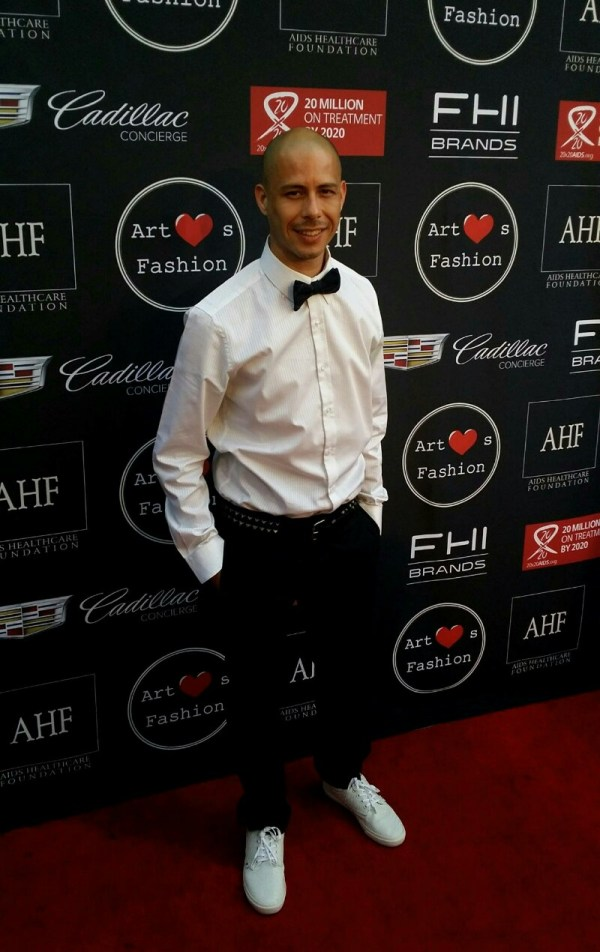 Xavier Madera steps on the red carpet just about every ...