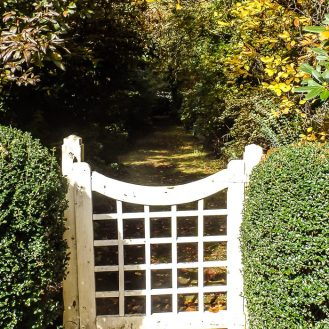Gate to the cottage
