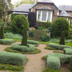 Heronswood from the front formal garden