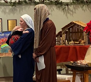 Nativity Scene - Mary and Joseph