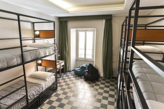 cool hostels in rome