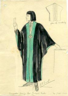 Judge's robes (UCDA/P4/1169/12)