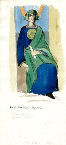 Circuit Judge robes (UCDA/P4/1169/4)