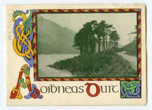 Colourful Christmas card design (UCDA P83/452)
