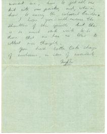 Letter from Michael to John pg1