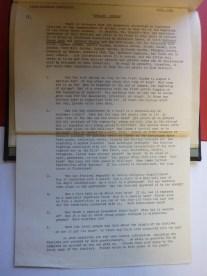 Garland Sunday Questionnaire 1942