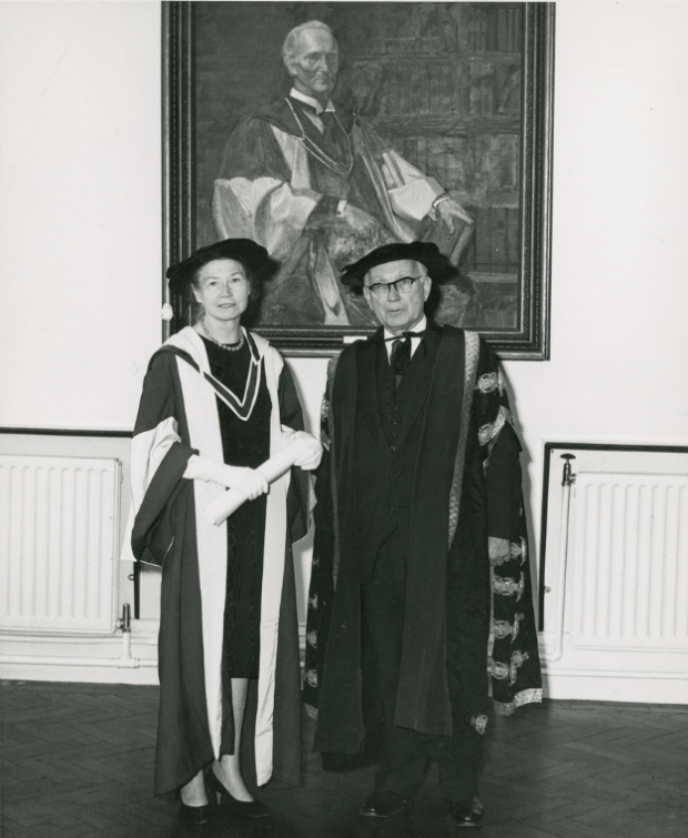Máire Sweeney and Michael Tierney