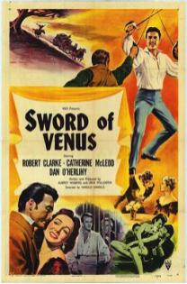 'Sword of Venus' (1953) poster. Courtesy of Wikipedia.