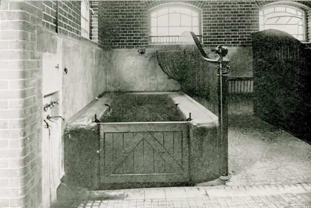 Animal bath in the college (UCDA RCVI/80/1)