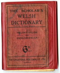 Cover of 'The Scholar's Welsh Dictionary'
