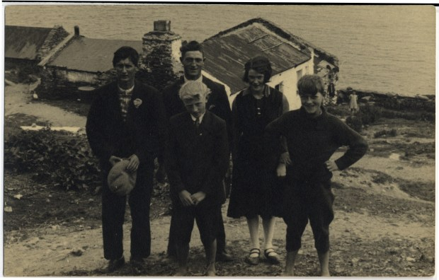 Family from the Great Blasket Island