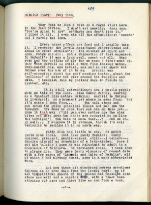 Michael J. Murphy diary (NFC 1390/289)