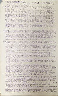 Acts of aggression carried out by British Forces, 17-22 January 1921, p117 (UCDA P7/A/13)