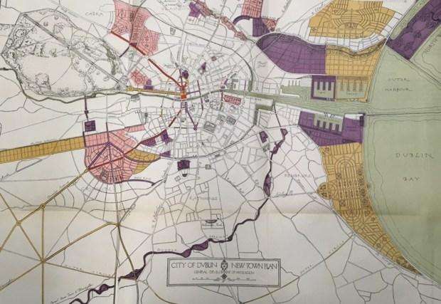 City of Dublin map