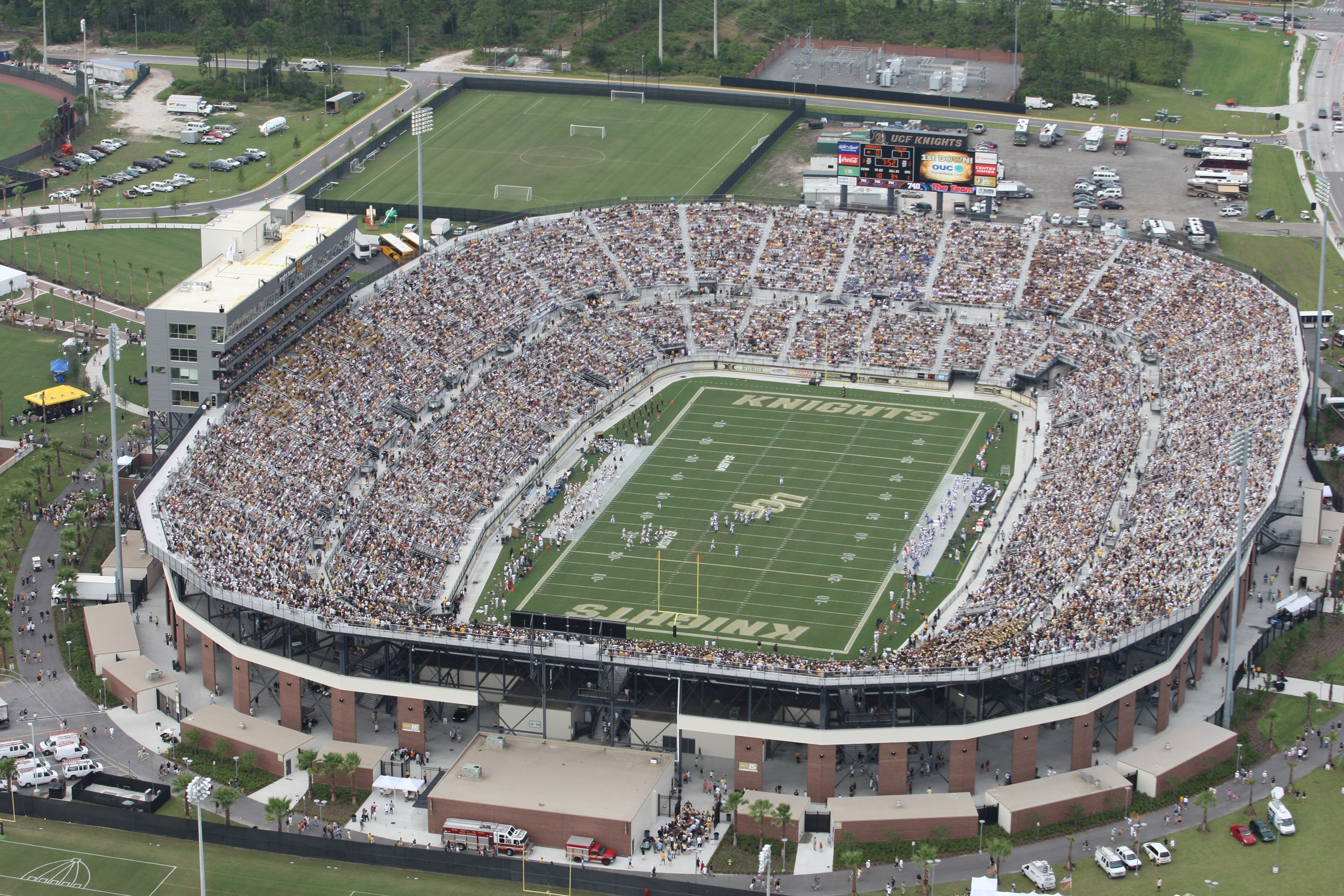 Image result for aerial view of football stadiums ucf