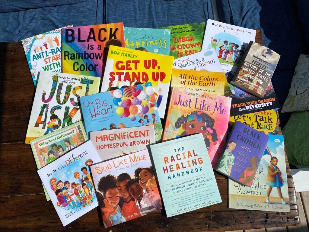 Children's books on racism