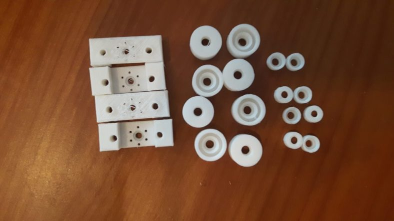 części z drukarki 3d