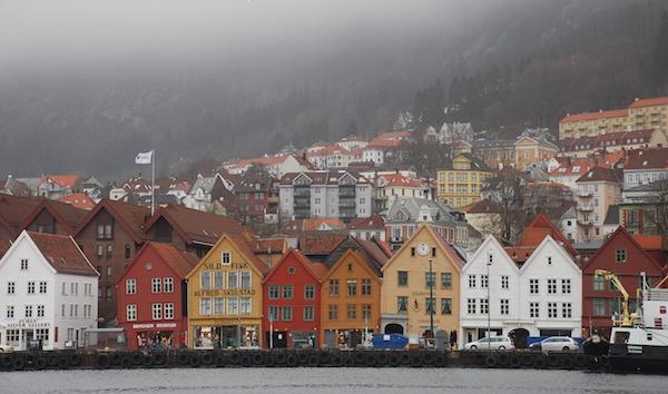 The Bryggen Waktu Pagi
