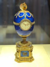 Faberge Easter Egg at the Faberge museum