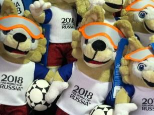 Fifa World Cup 2018 football memorabilia