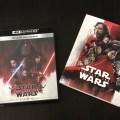 「スターウォーズ/最後のジェダイ」4K UHD+3D版Blu-rayが到着