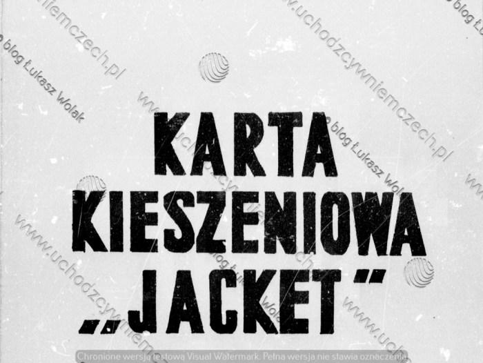 Materiały Jacket
