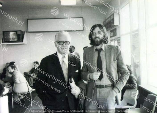 Jacek Kowalski i dr Ludwik Frendl