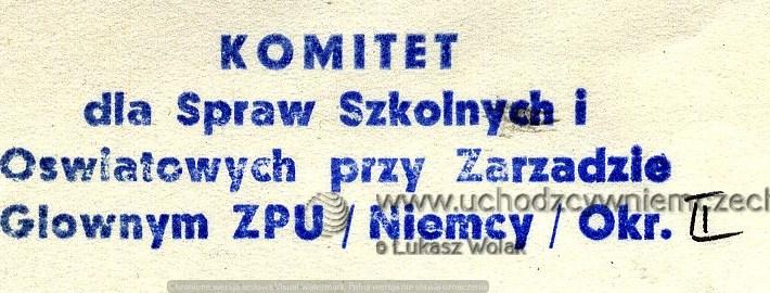 Szkolnictwo Polaków w RFN w latach 50-tych