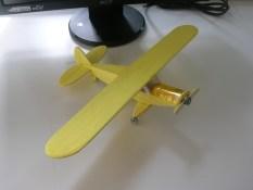 maketa aviona Piper PA 18