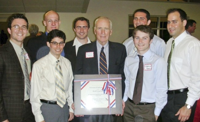 2006 - 50th Anniversary Recognition of his Olympic Gold Medal (Stanford University Boathouse)